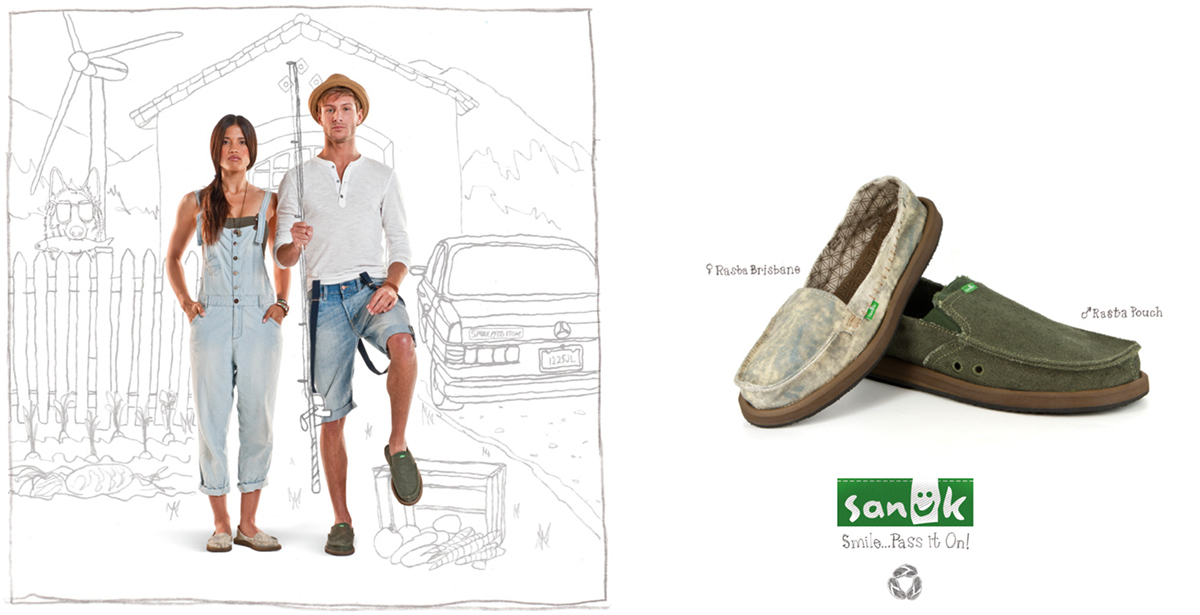 Sanuk Lookbook