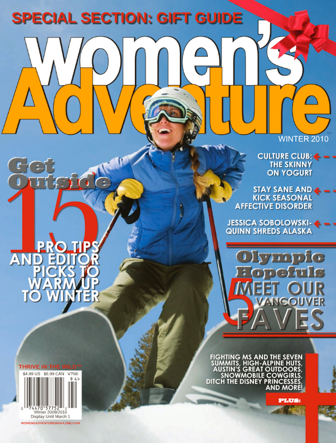 Womens Adventure Tearsheet
