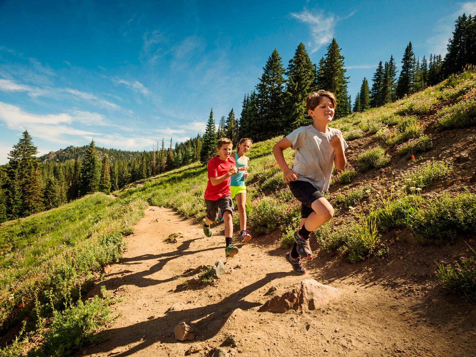 Children Trail Running