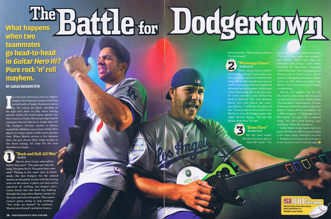 Sports Illustrated - Dodgers