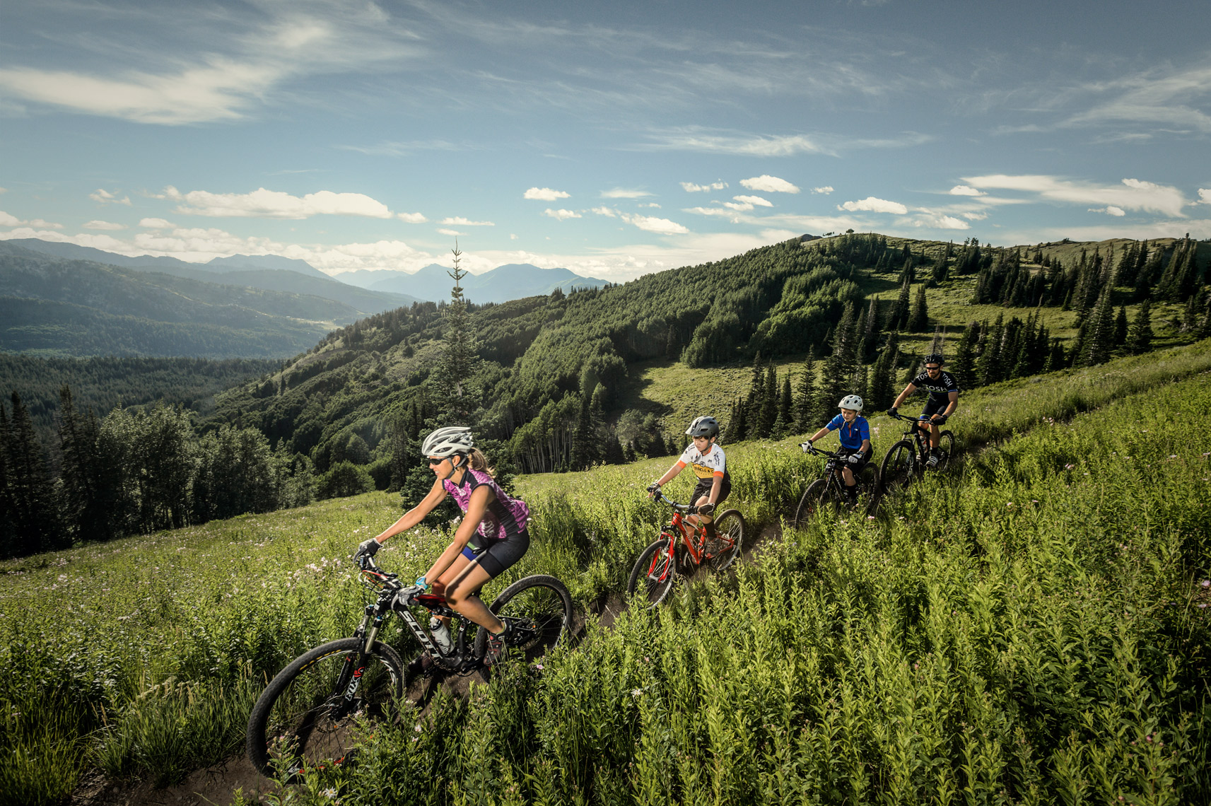 family_mountain_biking
