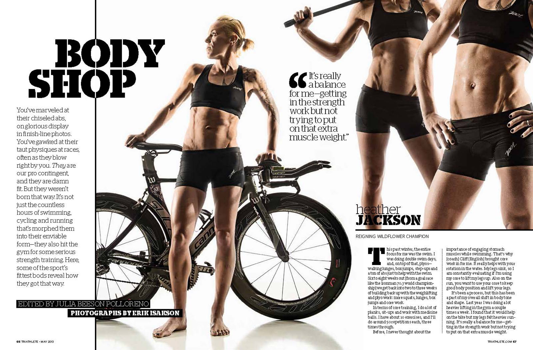 Triathlete Tearsheet 1
